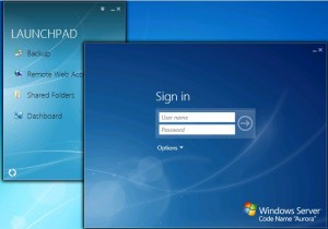 "Windows Server ""Aurora"" Sign In"