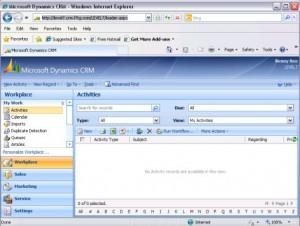 Dynamics Web Client