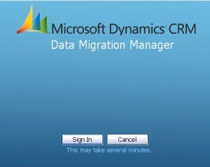Dynamics Data Migration Manager