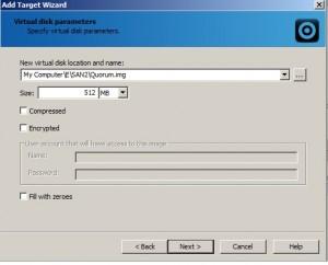 Virtual Disk Parameters