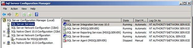 SQL Configuration Manager