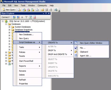 SQL Mirroring Setup1