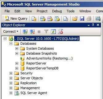 SQL Mirroring Setup3