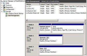 Create FC Disk Manager