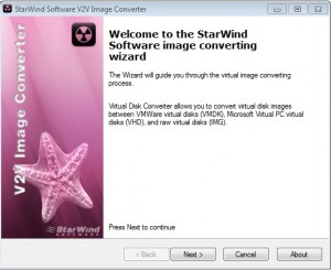 Starwind splash screen