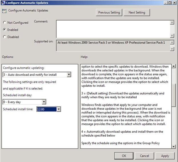 Windows Server Update Services (WSUS)   Level 7 TechnoBlog