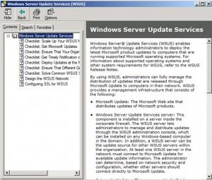 WSUS installation help
