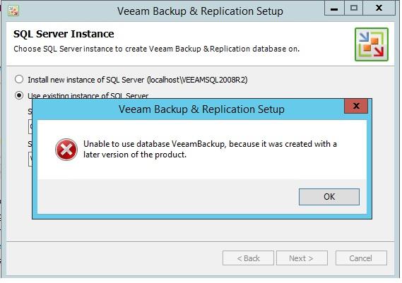 Veeam 6.5 to 7 upgrade